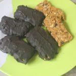 Chocolate Dipped Granola Bars Recipe