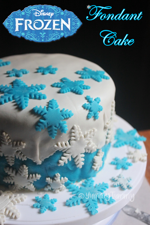 Outstanding Frozen Themed Fondant Birthday Cake Recipe Frozen Cake Ideas Funny Birthday Cards Online Chimdamsfinfo