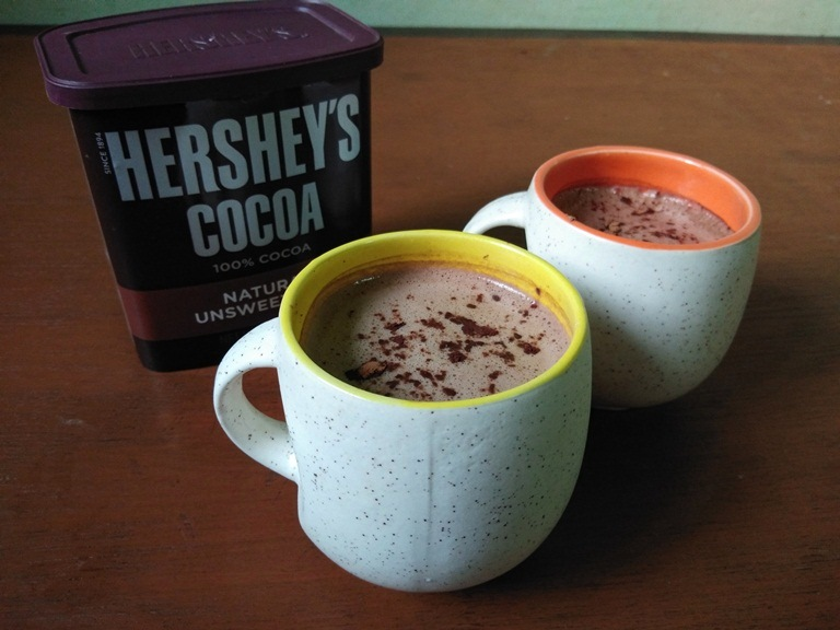 Cafe Style Hot Chocolate Recipe