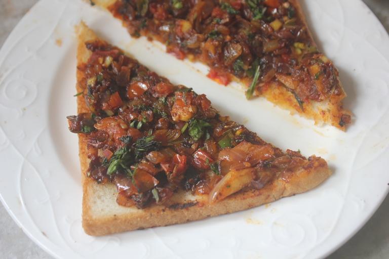 Masala Bread Toast Recipe – Easy Breakfast Ideas
