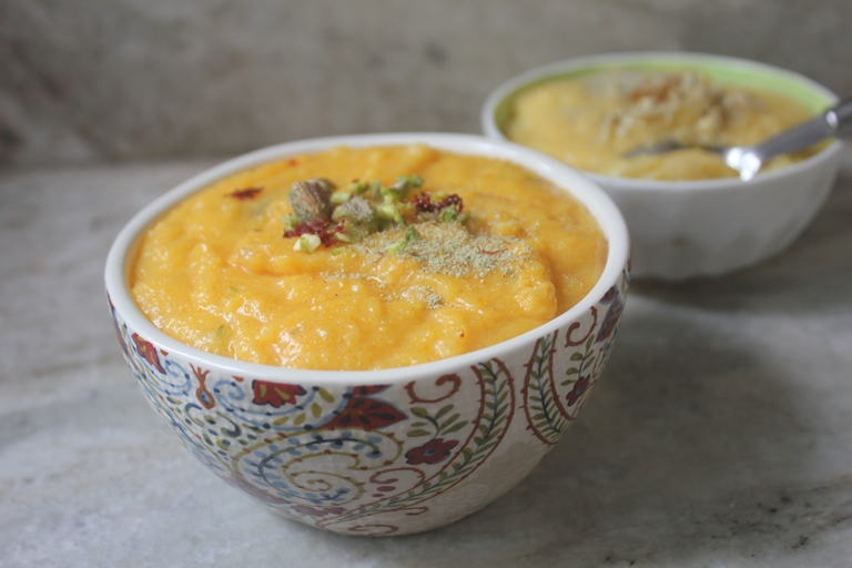 Kesar Pista Phirni Recipe – Kesar Rice Pudding Recipe – Diwali Sweet Recipes