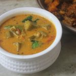 Ladies Finger Tomato Kuzhambu Recipe – Vendaikkai Thakkali Curry Recipe