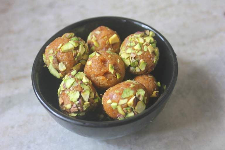 Coconut Jaggery Milk Balls Recipe