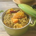 Pumpkin Green Gram Kootu Recipe – Poosanikai Pachaipayaru Curry