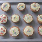 White Chocolate Pomegranate Cupcakes Recipe
