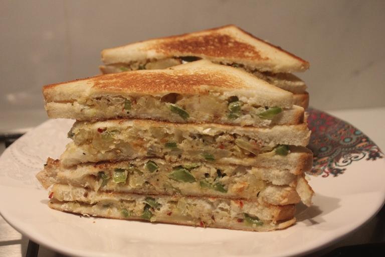 Potato Mayonnaise Sandwich Recipe Aloo Mayo Sandwich Recipe