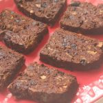 Eggless Chocolate Plum Cake Recipe