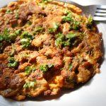 Chicken Omelette Recipe – Leftover Chicken Recipes