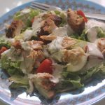 Grilled Chicken Salad with Ranch Dressing