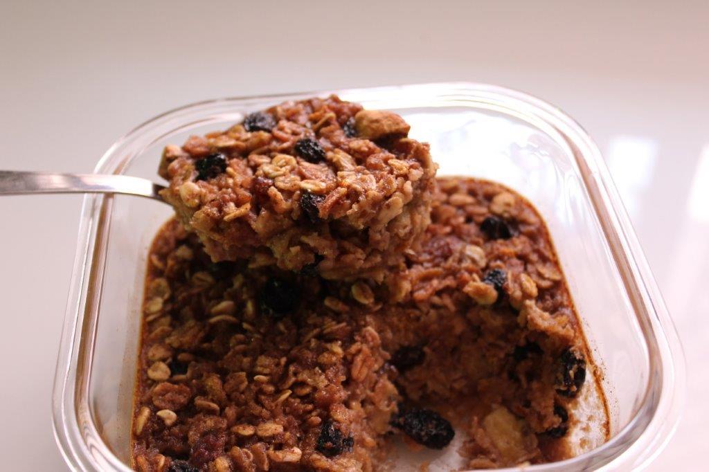 Baked Oatmeal Recipe Baked Breakfast Granola Recipe