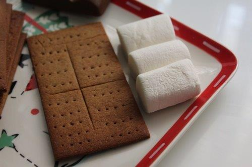 stove top S'Mores