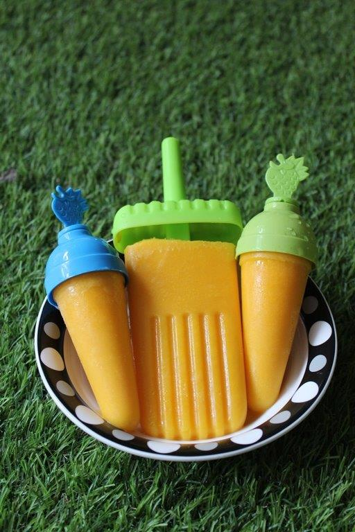 Carrot Popsicle Recipe