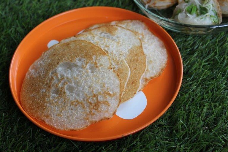 Goad Poale Recipe - Glutinous Rice Flour Pancakes