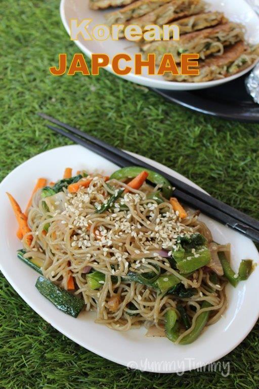 Korean Vegetarian Japchae