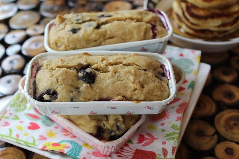 Skinny Blueberry Cake Recipe