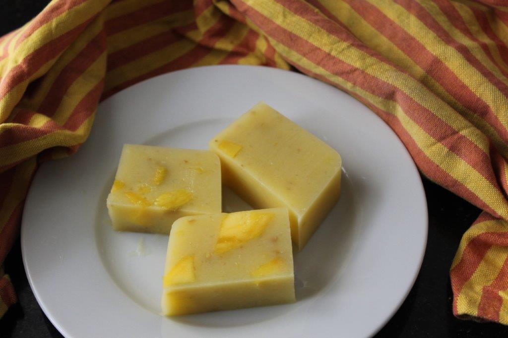 Mango Coconut Milk Pudding