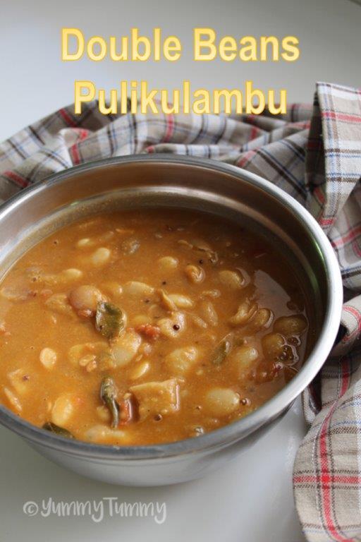 Double Beans Pulikuzhambu