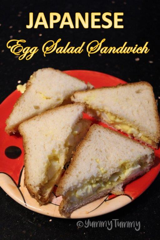 Japanese Egg Salad Sandwich