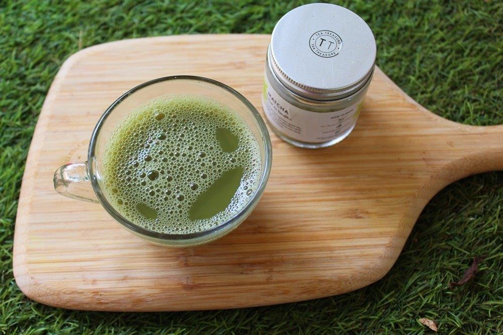 Como fazer chá verde Matcha em casa