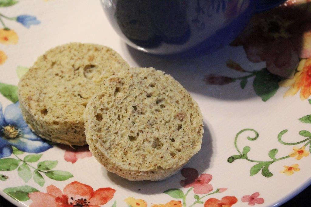 Receita de pão low carb de 90 segundos – Receita de pão Keto