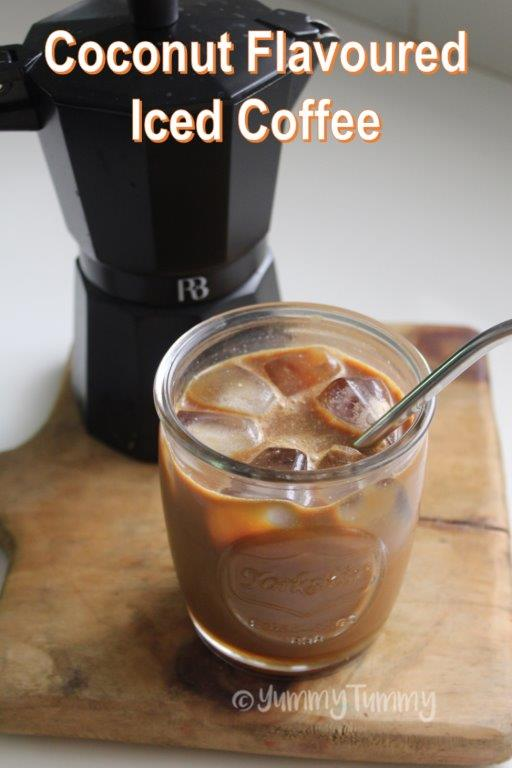 Coconut Flavoured Iced Coffee