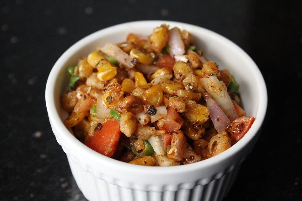 Crunchy Corn Chaat