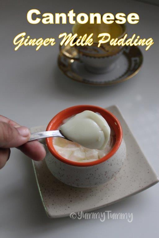 Cantonese Ginger Milk Pudding