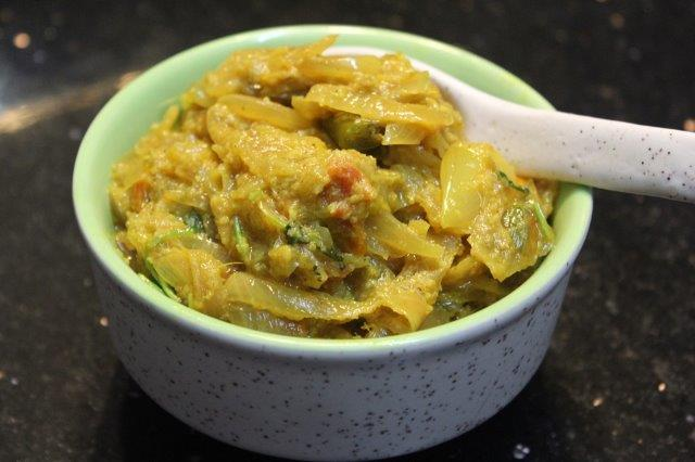 etapa 16 Curry de cebola para chapati