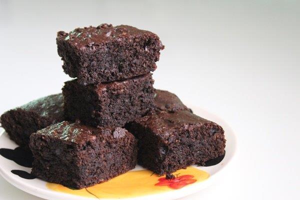 almond flour brownies