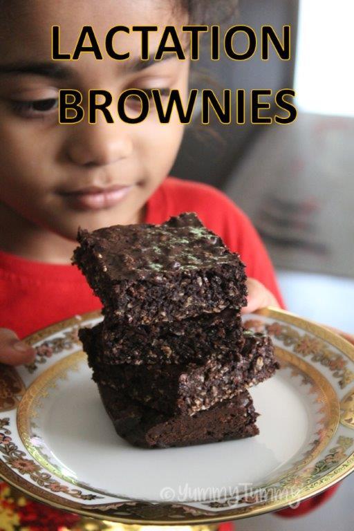Brownies de lactação